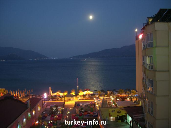 Marmaris at night