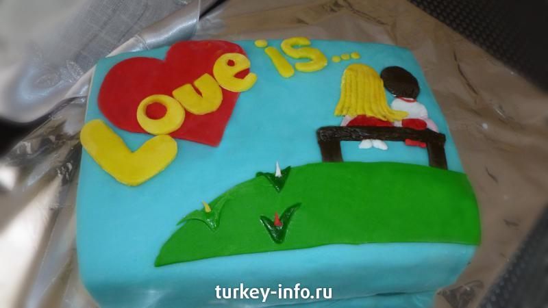 Тортики для мужа фото