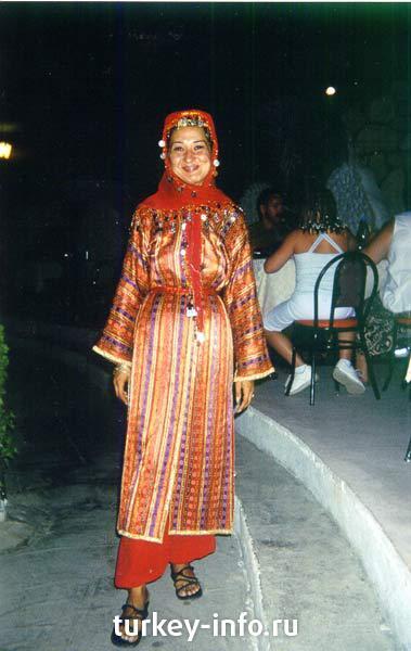 Турецкий Женский Национальный Костюм