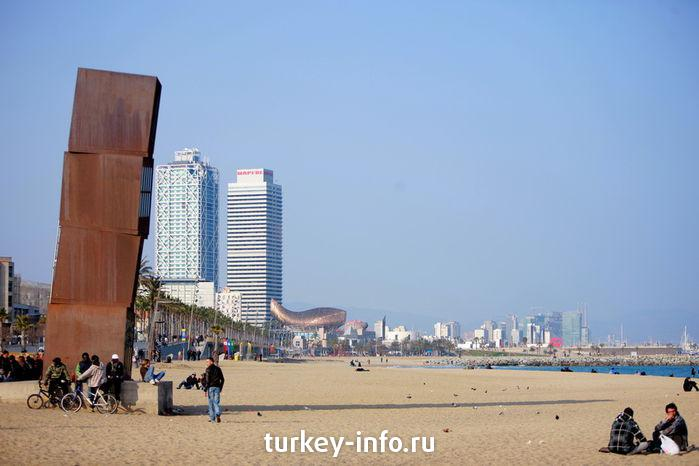Beach of  Barcelona